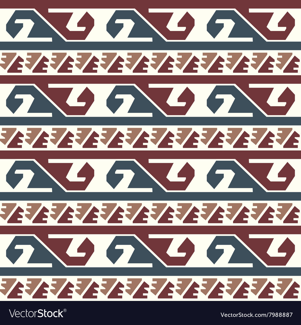 Tribal colored pattern 3 vector