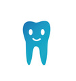Happy tooth- Logo for dentist vector image