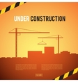Building under Construction site vector image