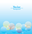 Flare Background vector image