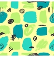 seamless pattern brush strokes vector image
