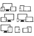 Technology Device Symbols vector image