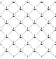 White seamless pattern with anchors vector image