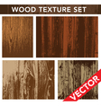 Wooden backgrounds vector image