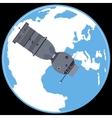 Manned spacecraft Soyuz 7K vector image vector image