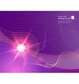 Realistic sun flare on abstract background vector image