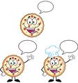 Cartoon Pizza vector image vector image