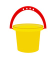 Baby bucket vector image