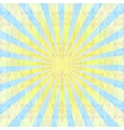 Rays sky background vector image