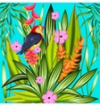 Exotic Tropical Background vector image