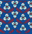 turkish chintamani pattern vector image vector image