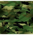 Drapery camouflage fabric textile background vector image