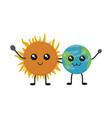 Earth planet design vector image