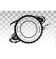 Retro vintage badge stamp isolated icon vector image