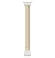 Classic column pilaster vector image