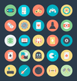 Gaming Colored Icons 1 vector image