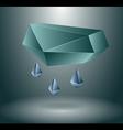 Rain concept vector image vector image