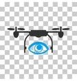 Eye Spy Drone Icon vector image