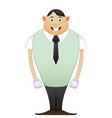 modest Beginner office man vector image