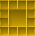 Shelves vector image vector image