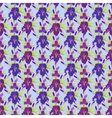 Floral seamless pattern Flower iris background vector image
