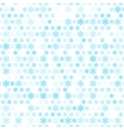 Abstract snow flake pattern wallpaper vector image