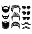 Hipster style and fashion set vector image
