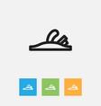 of equipment symbol on vector image
