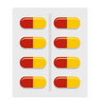 capsules icon isolated vector image