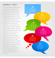 Conversation cloud4 vector image
