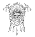 Indian and attributes vector image