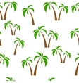 seamless pattern palms vector image