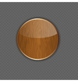 Wood application icon vector image vector image