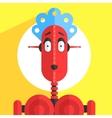 Servant Girl Robot Character vector image