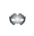 Mask silver vector image
