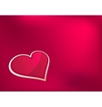 Background to the Valentines day  EPS8 vector image vector image