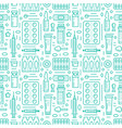 medical drugstore seamless pattern medicament vector image