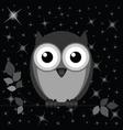 OWL STARS vector image