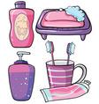 Bathware vector image
