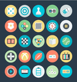 Gaming Colored Icons 3 vector image
