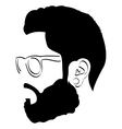 Isolated avatar portrait vector image