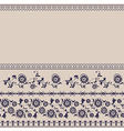 background border floral rustic vector image vector image
