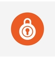 Lock sign icon Locker symbol vector image