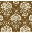 floral line pattern vector image vector image