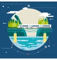 Planning Summer Vacation Tourism and Journey vector image