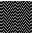 Black and white zigzag chevron minimal simple vector image