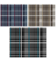 Fabric pattern vector image