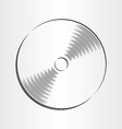 compact disc dvd cd icon vector image