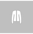 jacket computer symbol vector image