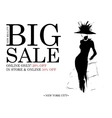 Fashion shopping design vector image